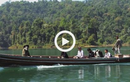 Asia, vite segrete, luoghi nascosti - Tailandia, la vita selvaggia di Khao Sok (corta)